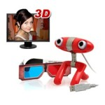 Funny tech gadget the Minoru 3D Webcam