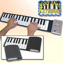 Rollout electronic piano