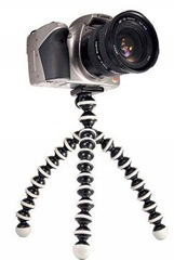 Mini Flexible Tripod for Camera & Camcorder1