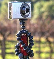 Mini Flexible Tripod for Camera & Camcorder5