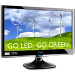 Viewsonic VX2450WM-LED 24-Inch Widescreen LED Monitor with Full HD 1080p and Speakers