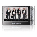 Archos 604 30GB Wi-Fi Ultra-Slim Portable Digital Media Player and Recorder