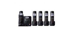 Panasonic KX-TG6645B DECT 6.0 Cordless Phone with Answering System