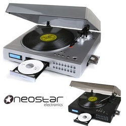 Neostar Vinyl2CD Turntable