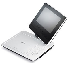 LG DP371B a smart 7 inch portable player features and specifications 1