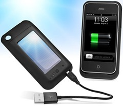 iPhone Solar & USB Mooncharge 1