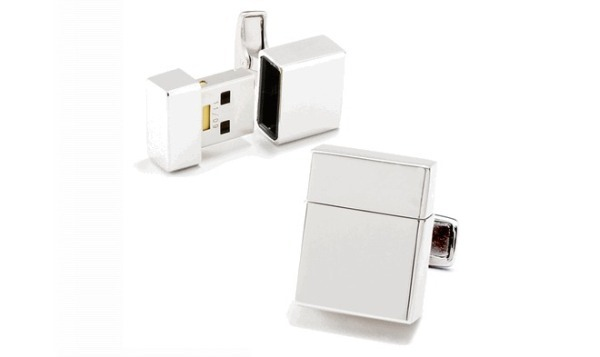 Holiday Gift Guide: USB Drive Cufflinks 1