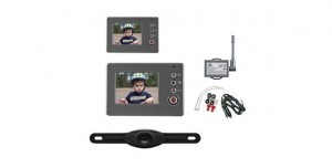 Peak PKC0RB Wireless Back-Up Camera System with 3.5-Inch LCD Color Monitor