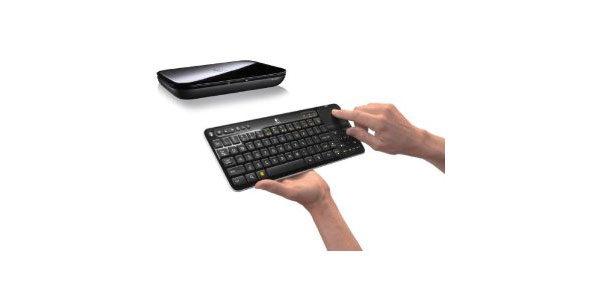 Logitech Revue Companion Box with Google TV and Keyboard Controller