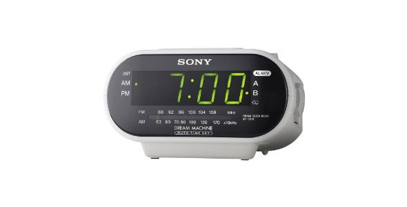 Sony ICF-C318 Automatic Time Set Clock Radio with Dual Alarm