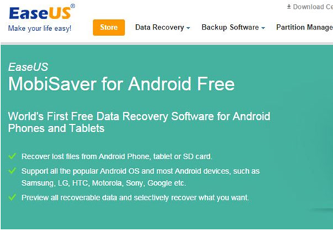 The review about EaseUS MobiSaver for Android Free 3
