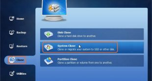 Transfer Windows 7 to New Hard Drive with AOMEI Backupper 4.6.3 2