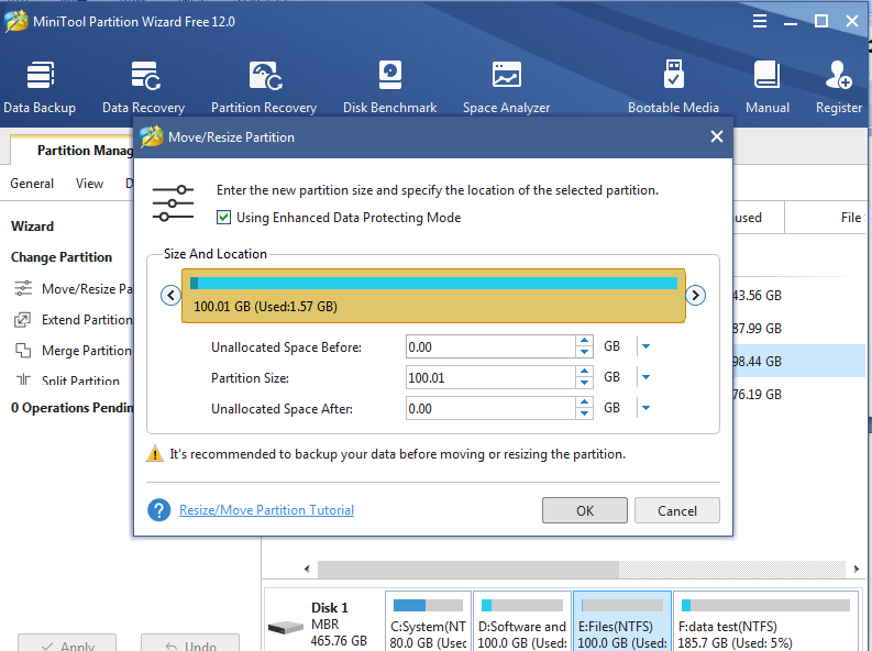 partition managers operation